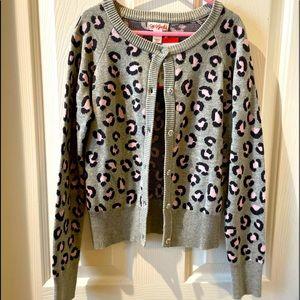Girl's Cat & Jack Leopard Sweater